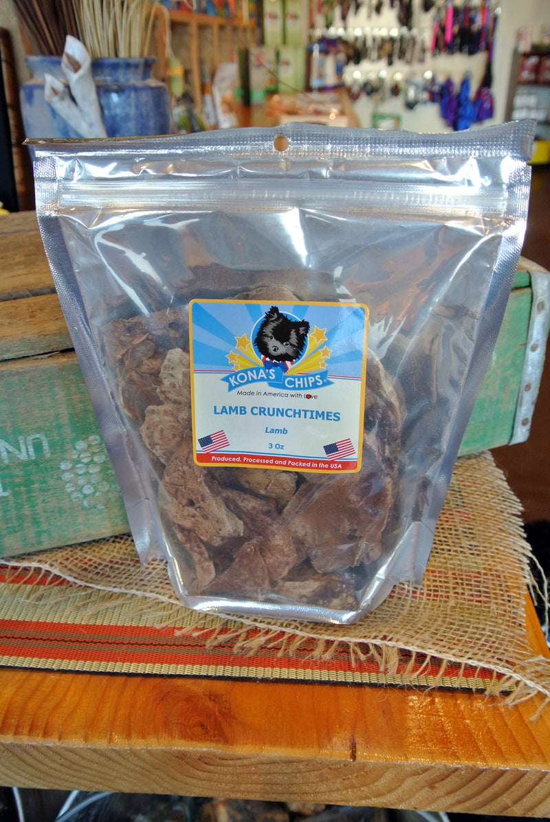 Kona's Chips® Lamb Crunchtimes™ -- 3 oz bag