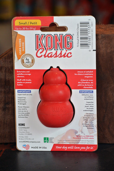 Kong® Classic Chew Toy -- Small