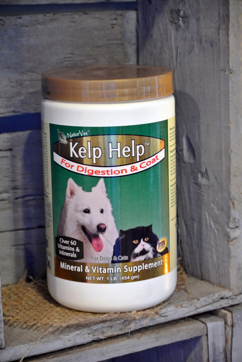 NaturVet® Kelp Help™ Supplement Powder for Dogs and Cats