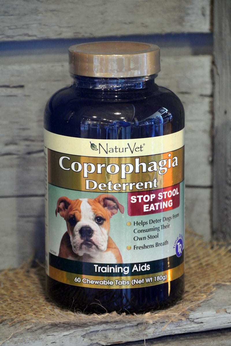NaturVet® Coprophagia Deterrent™ Tablets for Dogs