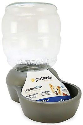 Petmate Replendish Gravity Waterer for Dogs and Cats