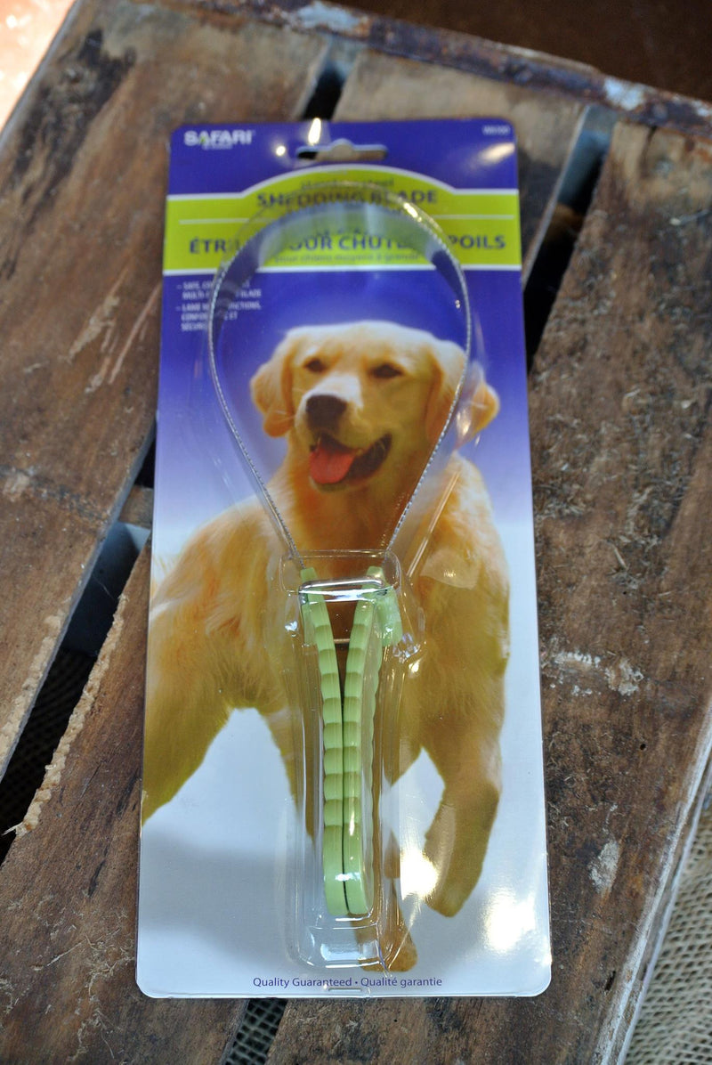 Safari® Stainless Steel Shedding Blade for Dogs