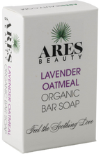 Load image into Gallery viewer, Lavender Oatmeal Organic Bar Soap