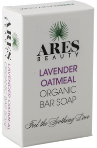 Lavender Oatmeal Organic Bar Soap