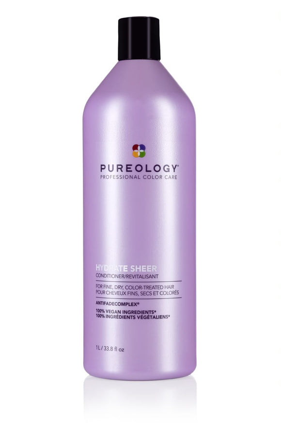 Hydrate Sheer (cheveux fins) Revitalisant - Pureology - 1L