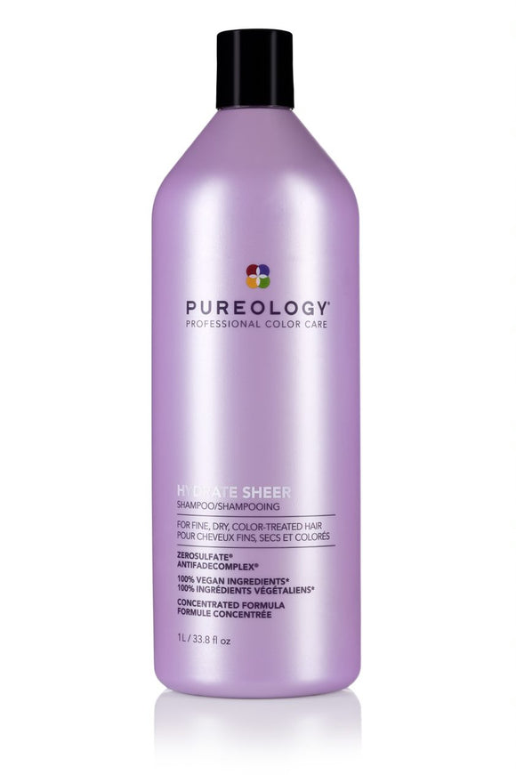 Hydrate Sheer (cheveux fins) Shampooing - Pureology - 1L