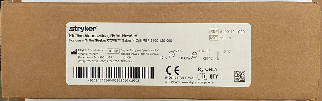 5407-120-470 Elite 12cm Straight Attachment NEW IN BOX