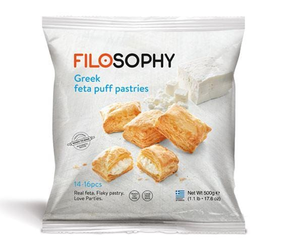 Filosophy Puff Pastry Minis with Feta Cheese