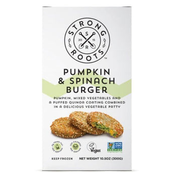 Strong Roots Pumpkin & Spinach Burgers