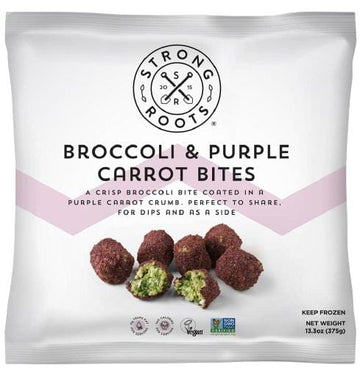 Strong Roots Broccoli & Purple Carrot Bites