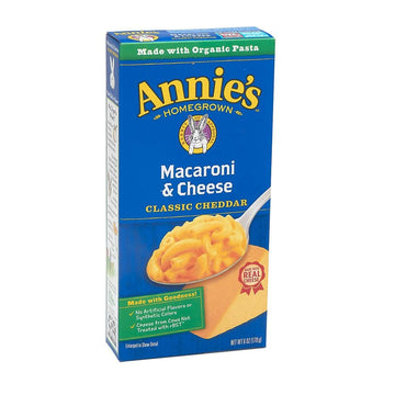 Annie's Mac & Cheese with Organic Pasta and Classic Cheddar