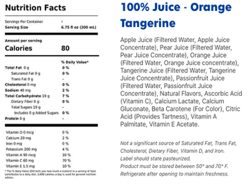 Apple & Eve 100% Orange Juice