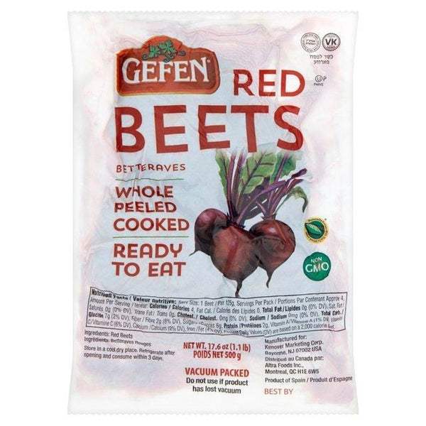 Beets (Cooked and Peeled)