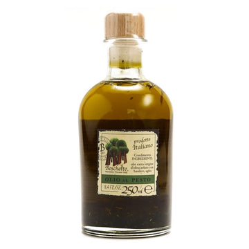 Il Boschetto Extra Virgin Olive Oil Infused with Pesto Herbs