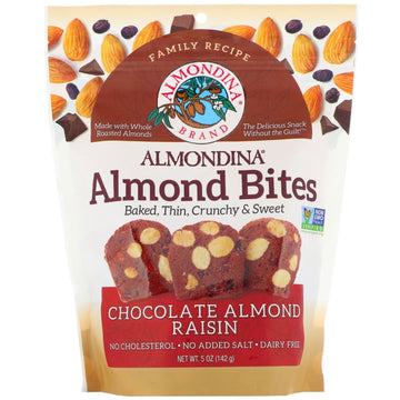 Almondina Almond Bites Chocolate Raisin