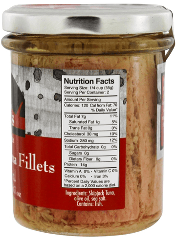 Cole's Premium Tuna Fillets in Olive Oil
