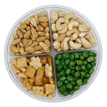 Nuts & Rice Crackers Assortment Tray