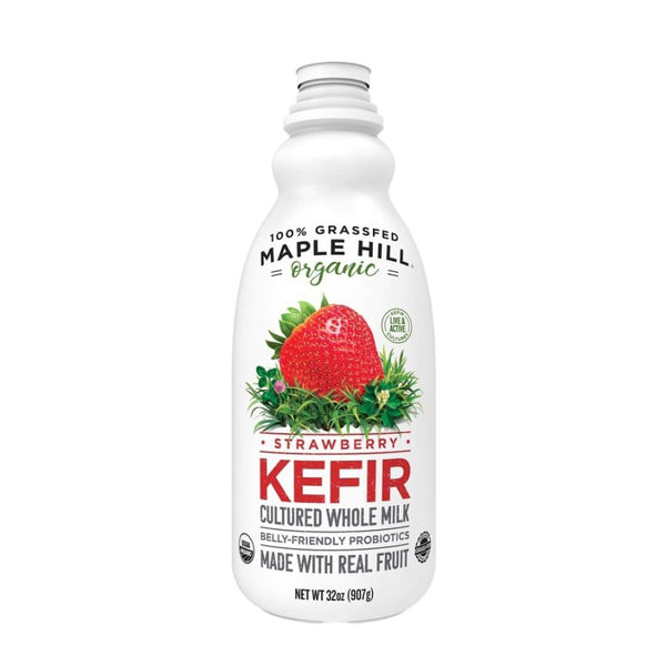 Maple Hill Organic Strawberry Kefir