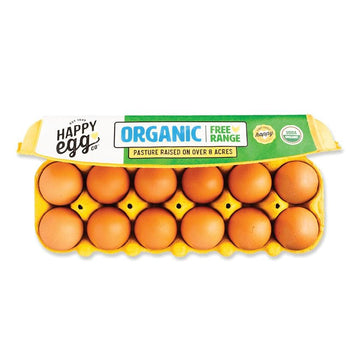 Happy Egg Co Organic Free Range Eggs