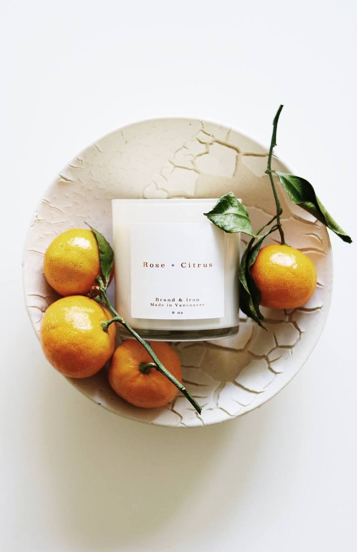 Brand & Iron Candle Rose & Citrus