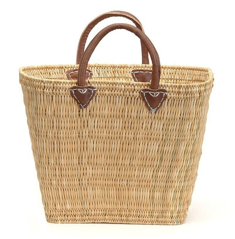 Straw Market Basket
