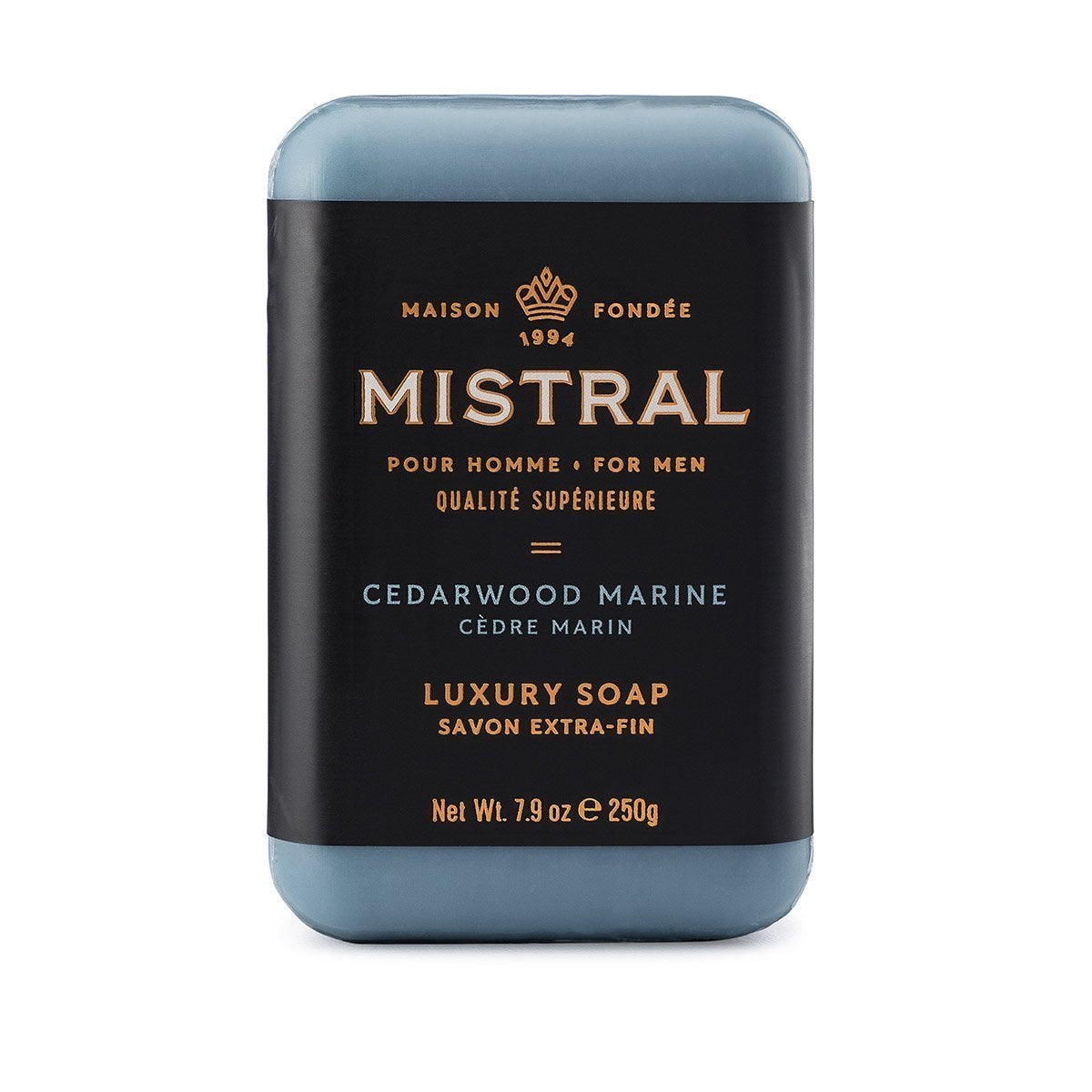 Mistral Cedarwood Marine Men's Bar Soap