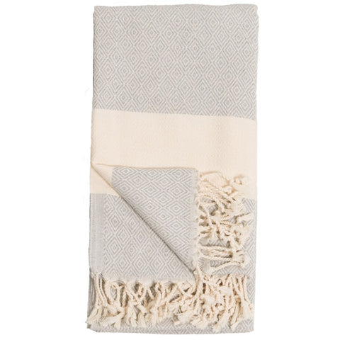 Turkish Bath Towel / Throw Blanket Mist