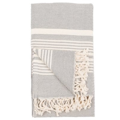 Turkish Towel/ Throw - Hasir - Slate
