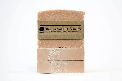 Pink Salt Bar Bridlewood Soap Company