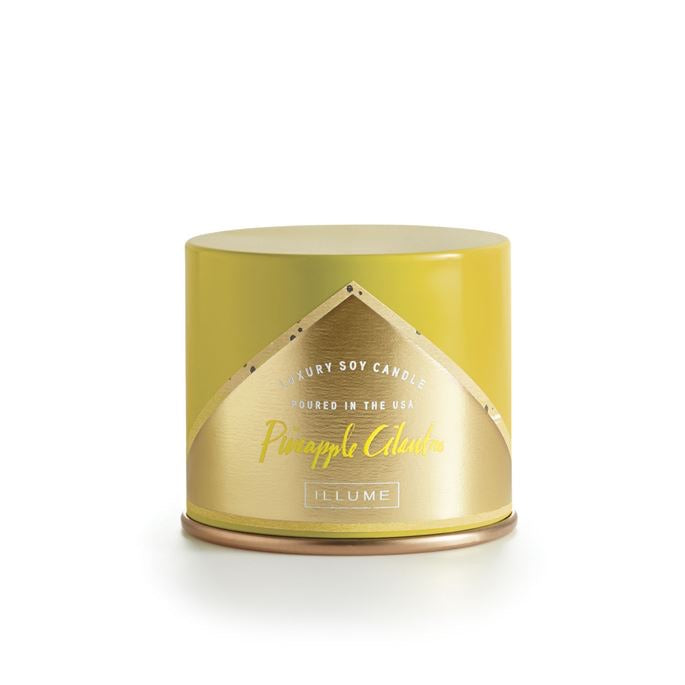 Illume Candle Vanity Tin Pineapple Cilantro