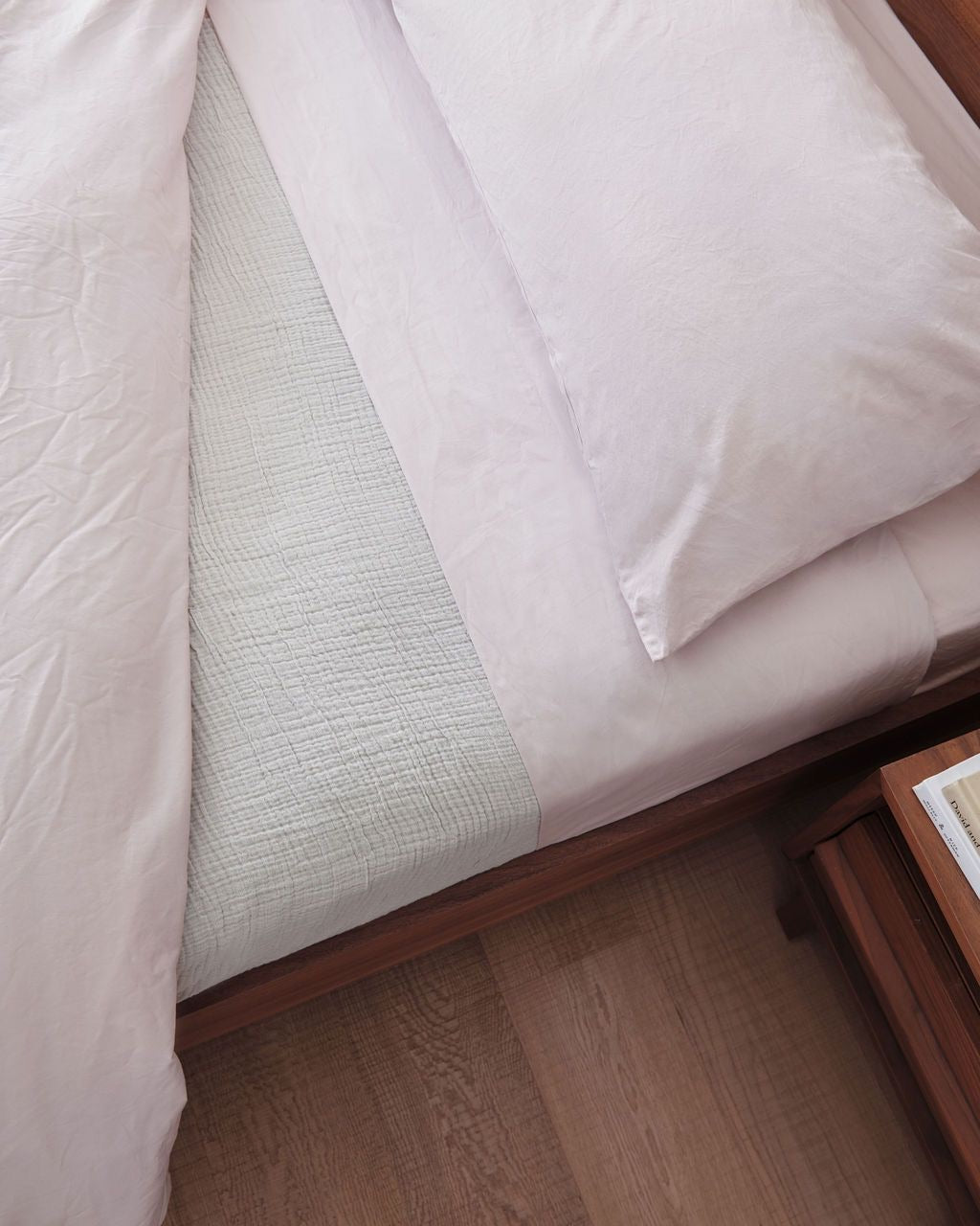 If Only Home Luxury Organic Sheet Set - Blush
