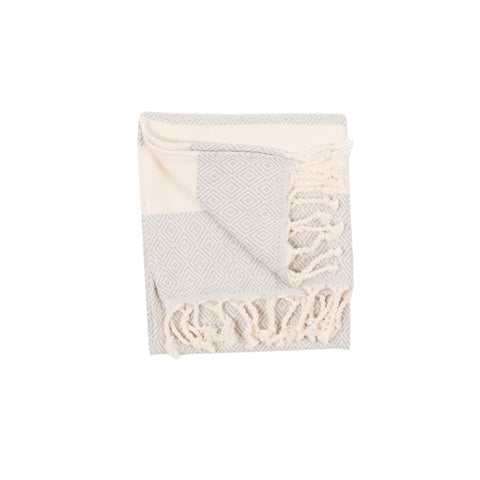 Turkish Hand Towel Diamond-Mist