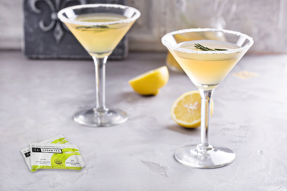Green Tea Honey & Thyme Martini