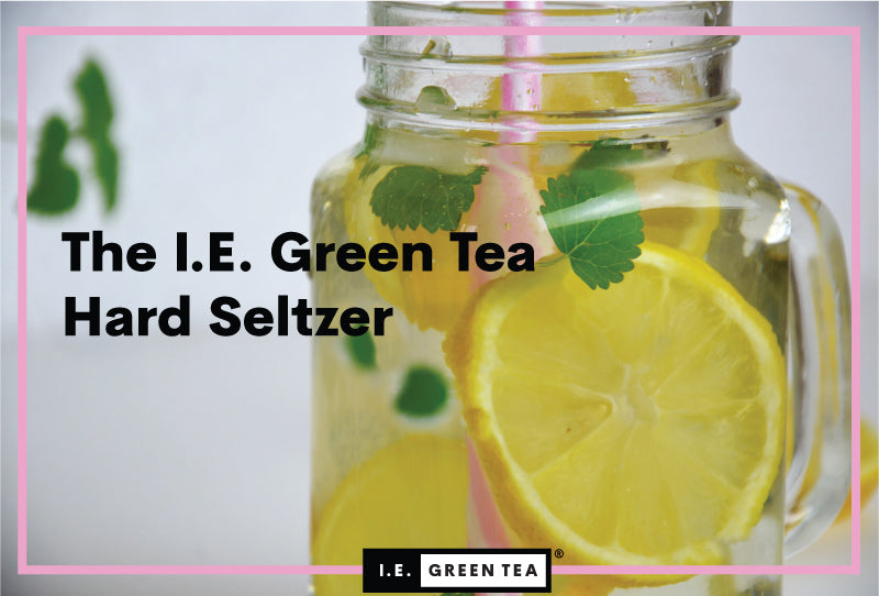 Sparkling Green Tea Hard Seltzer