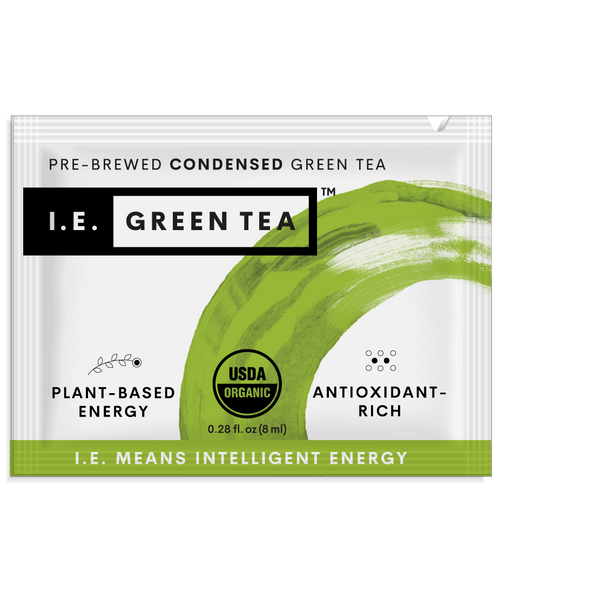 Green tea packets sustainable organic green tea packets