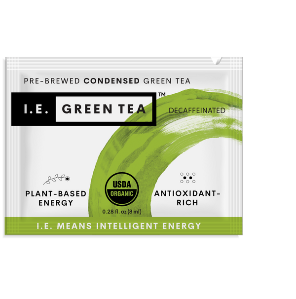 Decaf organic instant green tea packets original pure tea