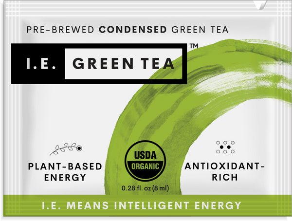 Green tea energy drink caffeinated green tea packets