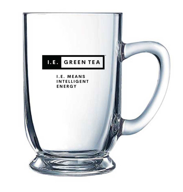 I.E. Green Tea Glass Mug