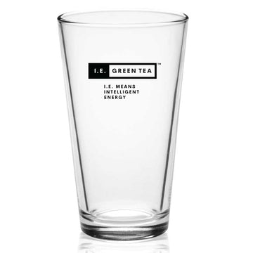 I.E. Green Tea - 16 ounce Pint Glass
