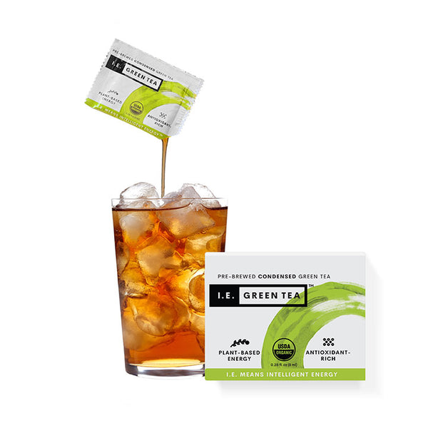 Energy tea caffeinated green tea energy iced teas