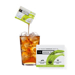 Decaf iced green tea pure organic tea