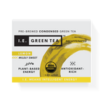 Decaffeinated green tea with lemon, organic green tea packets