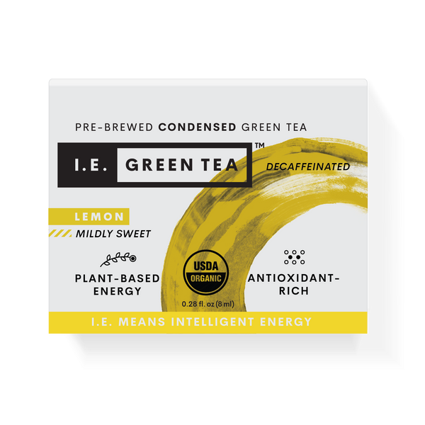 Green tea with lemon pure organic green tea