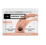 Decaf green tea with peach instant green tea packets
