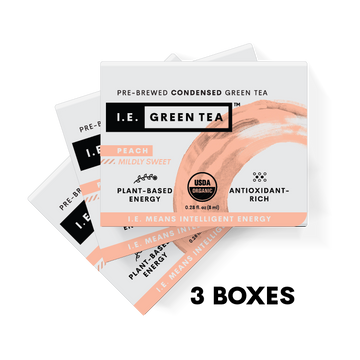 Peach Green Tea 3 Box Bundle (8 servings per box)