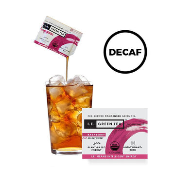 Decaffeinated Raspberry Green Tea (8 servings per box)