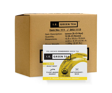 Lemon Green Tea Inner Carton (12 x 8-ct boxes)