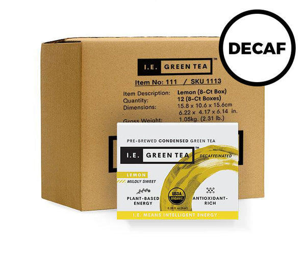Decaffeinated Lemon Green Tea Inner Carton (12 x 8-ct boxes)