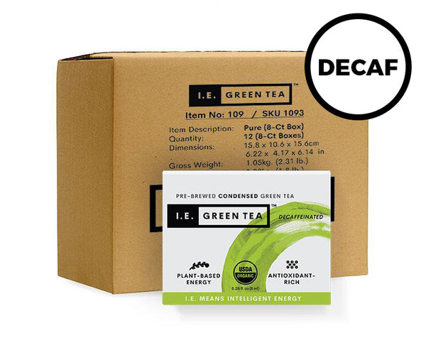 Decaffeinated Natural Green Tea - Inner Carton (12 x 8-ct boxes)