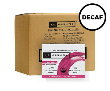Decaffeinated Raspberry Green Tea - Inner Carton (12 x 8-ct boxes)